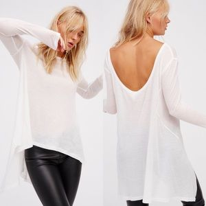 NWT ✨ Free People The Incredible Tee in Ivory